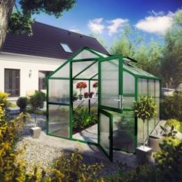 KGT Tulpe IV Gewächshaus - moosgrün