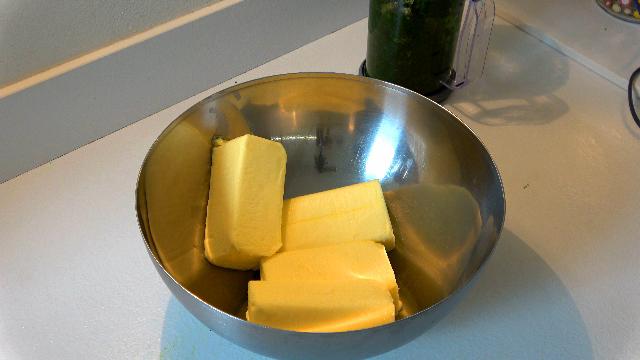 Butter vorbereiten
