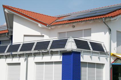 Solaranlage Balkon