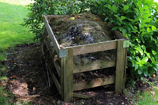 Komposter aus Holz
